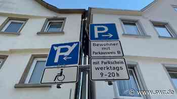 Anwohnerparken in Tübingen und Reutlingen soll teurer werden - SWR