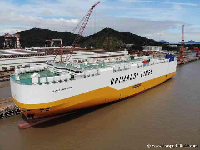 Gruppo Grimaldi: arriva in flotta la Grande California, la carrier più sostenibile - Trasporti-Italia.com - Trasporti-Italia.com
