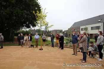 Bewoners openen speelpark nieuwe wijk (Hove) - Het Nieuwsblad