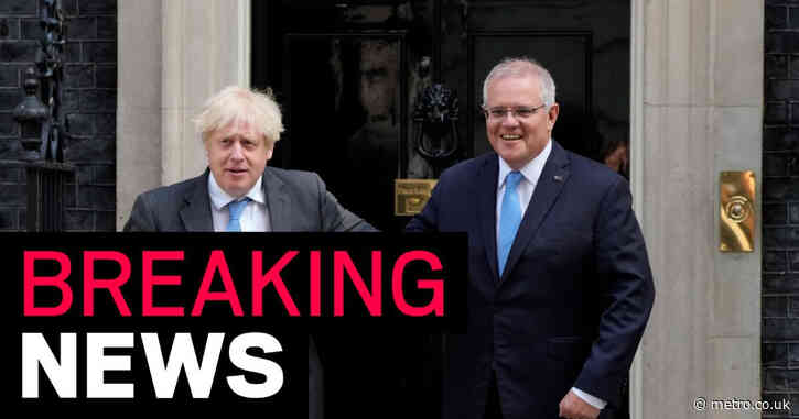 UK agrees trade deal with Australia in first major Brexit success