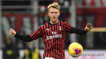 El Milan hará capitán a Kjaer tras su imperial actuación con Eriksen - BeSoccer