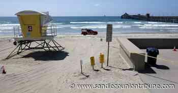 Se advierte de la contaminación en el sur de Imperial Beach para que no se metan en el agua - San Diego Union-Tribune en Español