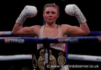 Shannon Courtenay will defend world title next month - Watford Observer