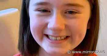Girl, 8, diagnosed with brain tumour after mum notices her 'becoming clumsy'