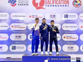 Taiwan's Wang Yi-ta qualifies for spot to compete in karate at Tokyo Games - Taipei Times