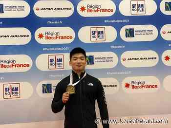 Park Hee-jun wins S. Korea's first Olympic qualification in karate - The Korea Herald