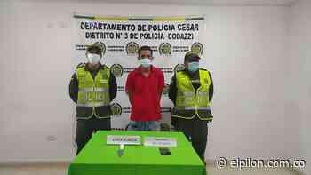 Lo capturaron por hurto en La Jagua de Ibirico - ElPilón.com.co