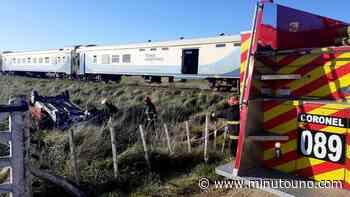 Tragedia en Mar del Plata: un auto fue embestido por un tren a 50 kilómetros y murió uno de sus ocupantes - Minutouno.com