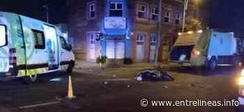 Tragedia en Mar del Plata: Un camión recolector chocó y mató a un adolescente en moto - Entrelíneas.info