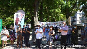 Wetterau: Demonstranten klagen Alltagsrassismus in Bad Nauheim an - Wetterauer Zeitung