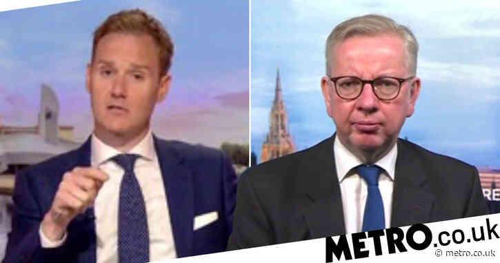 BBC Breakfast viewers shocked as Dan Walker gets 'hostile' with Michael Gove