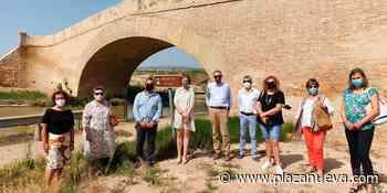 Restaurado el puente sobre el Canal Imperial - plazanueva.com