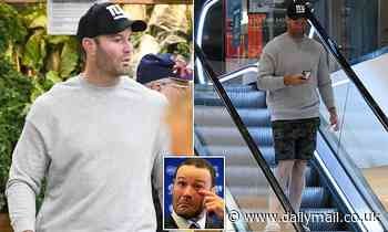 NRL star Boyd Cordner goes shopping after shock retirement over 'disturbing' concussion problems