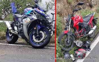 Chocan motociclistas en Sierra de Lobos - El Sol de León