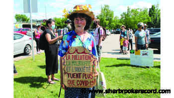 Pipeline protest in Sherbrooke - Sherbrooke Record