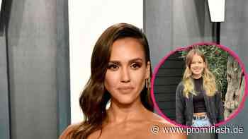 Jessica Alba staunt: Tochter (13) ist schon größer als sie - Promiflash.de
