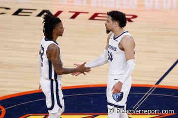 Grizzlies' Ja Morant Calls Out Dillon Brooks' Snub from NBA All-Defensive Teams - Bleacher Report