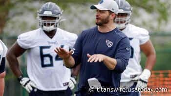 Titans OL coach Keith Carter praises Dillon Radunz, Nate Davis - Titans Wire