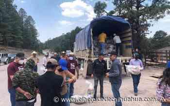Entregan despensas a comunidades de Guadalupe y Calvo - El Heraldo de Chihuahua