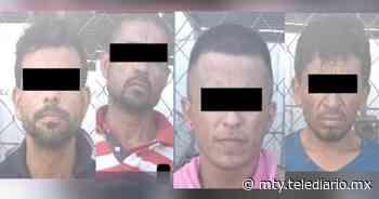 Detienen a cuatro hombres por portar droga en Guadalupe - Telediario Monterrey