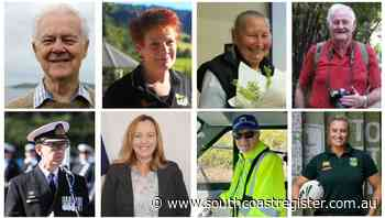 Locals honoured with Queen's Birthday gongs - South Coast Register