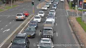 Traffic crawls through Nowra as long weekend draw to a close - South Coast Register