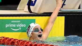McKeown sets 100m backstroke world record - South Coast Register