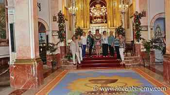 La alfombra del Corpus de Villalonga ya luce en la capilla - Levante-EMV