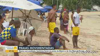 Mesmo com decreto e proibição, praias de Salvador registram aglomeração no fim de semana - G1