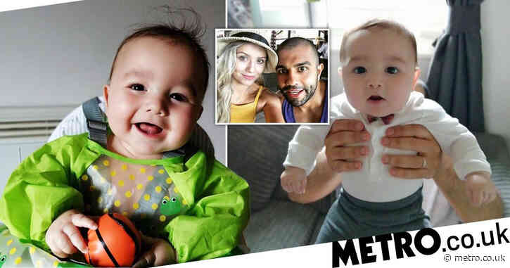 Couple desperate to raise money for 'world's most expensive drug' to treat baby son – after missing NHS cut-off by a week