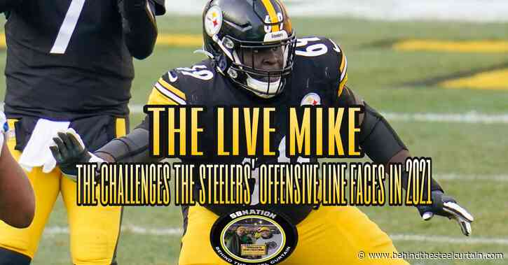 Podcast: The challenges the Steelers' offensive line faces in 2021