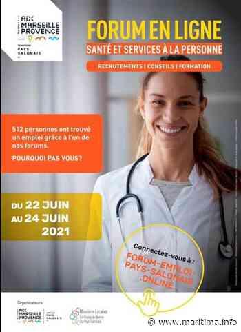 Salon de Provence : un forum 100% en ligne, secteur Santé et Services à la Personne - Salon de Provence - Emploi - Maritima.info