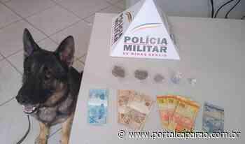 PM prende autor de tráfico de drogas em Manhumirim - Portal Caparaó
