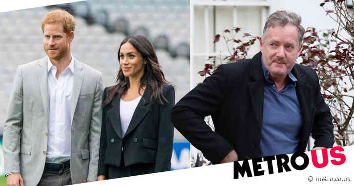 Piers Morgan demands Meghan Markle and Prince Harry 'pipe down' as he blasts 'sickening' behaviour