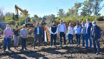 Cresto y Francolini recorrieron obras de infraestructura y saneamiento en Concordia - apfdigital.com.ar - APF Digital