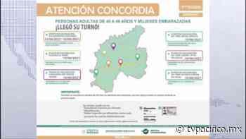 Vacunación de 40 a 49 años en Concordia | Coronavirus | Noticias | TVP - TV Pacífico (TVP)