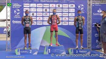 Manoel Messias carimba passaporte para Tóquio com prata na Copa do Mundo de triatlo; Hidalgo é bronze - Surto Olímpico