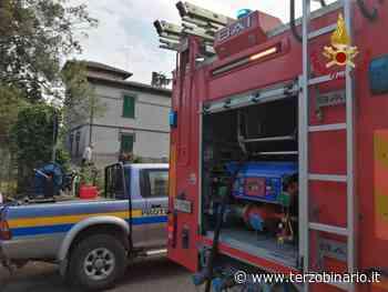 Incendio a Oriolo, al lavoro i pompieri di Bracciano - TerzoBinario.it