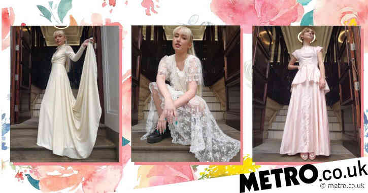 British Heart Foundation sells second-hand wedding dresses on Depop for brides on a budget