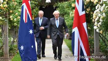 Großbritannien und Australien einigen sich auf Handelspakt