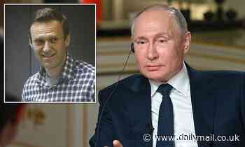 Vladimir Putin refuses to guarantee Alexei Navalny will ever leave prison alive
