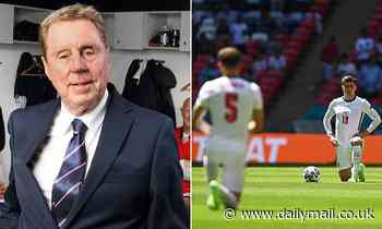 Harry Redknapp asks how much longer England players will take the knee