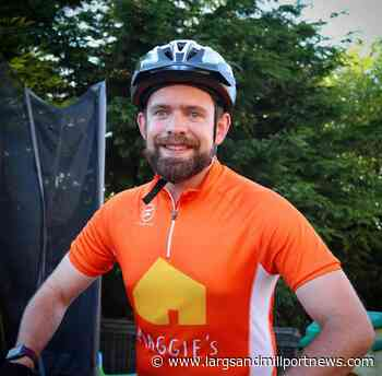 Fairlie man's lunch break cycling challenge to help cancer charity - Largs and Millport Weekly News