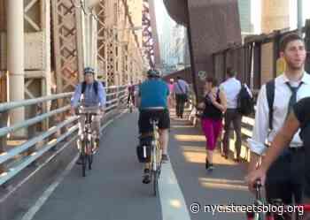 Cycling on East River Bridges Still Booming — Higher Ridership Than Pre-Pandemic Levels - Streetsblog New York