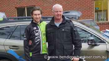 Stuart Darling receives Jason Lowndes cycling honour - Bendigo Advertiser