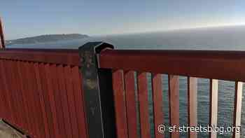 Is the Golden Gate Bridge's New Fence too Blowy for Cycling? - Streetsblog San Francisco