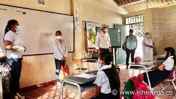 Con protocolos, Valledupar arranca alternancia educativa - El Heraldo (Colombia)