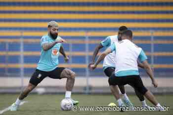 Antes de embarcar para o Rio de Janeiro, Seleção treina na Vila Planalto - Correio Braziliense