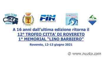 12° Trofeo Città di Rovereto - 1° Memorial Lino Barbiero. Risultati - Nuoto•com