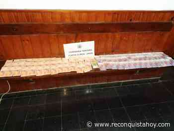 Un hombre de 77 años de la localidad de Fortín Olmos denunció que le faltaron 50.000 pesos. La policía requisó la casa de la mujer que había estado tomando con él y recuperó el dinero. - Reconquista HOY